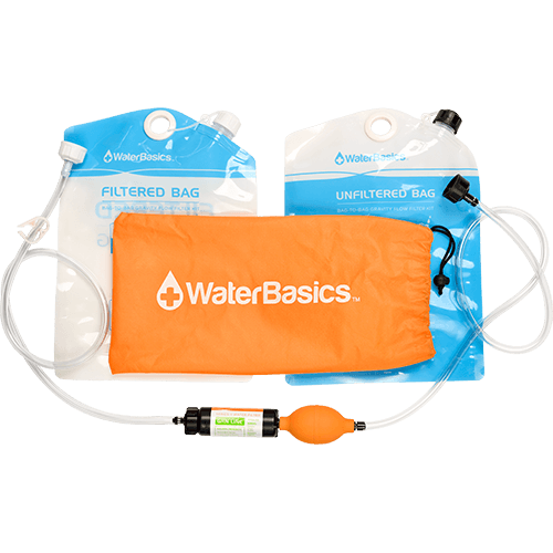 WaterBasics Bag-to-Bag Filtration Kit