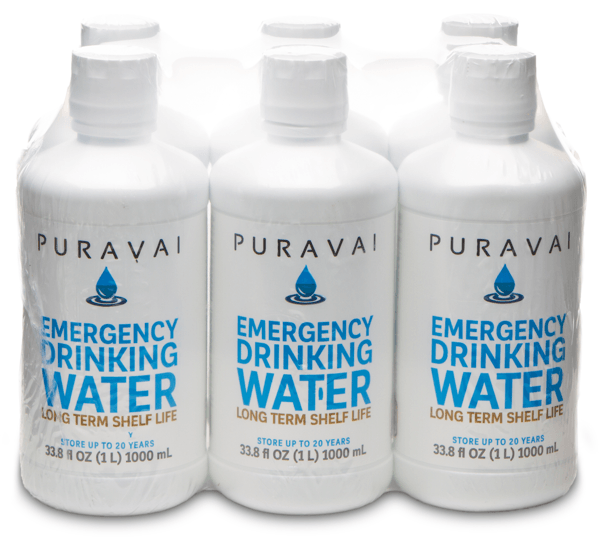 Purvai Emergency Drinking Water u2013 6 Pack of 1 Liter Bottles  sc 1 st  UltraPrep & Puravai Emergency Drinking Water - 6 Pack of 1 Liter Bottles | Ultraprep