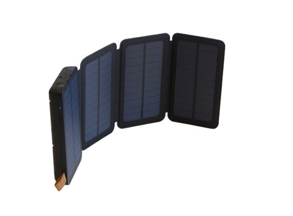 SUNJACK 5W SOLAR CHARGER + POWERBANK FLASHLIGHT