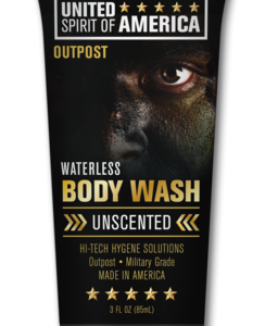 United Spirit of America Tactical Unscented Waterless Body Wash